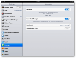 imessage for ipad