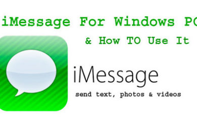 imessage on windows