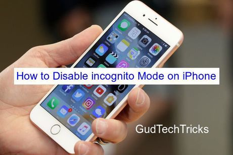 How to Disable incognito Mode on iPhone