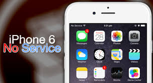 iphone 6 says no service