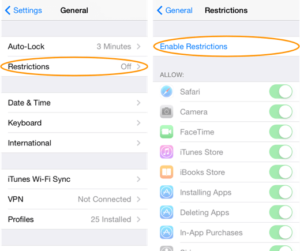 How to Completely Disable Private Browsing in iPhone