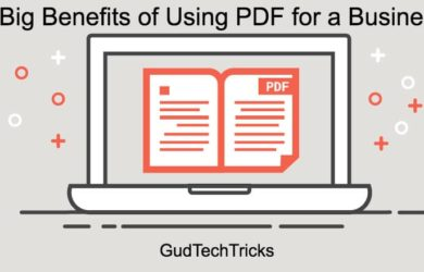 Benefits of Using PDF