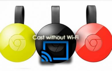 chromecast without wifi