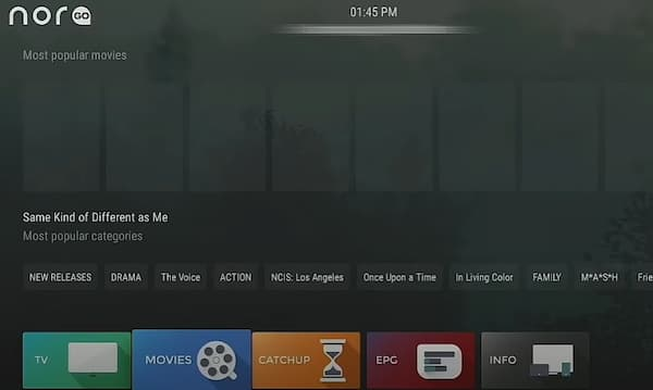 how to add nora go on firestick