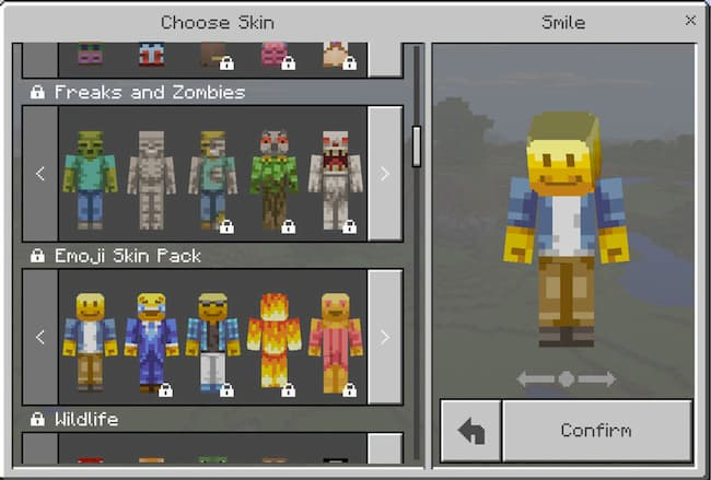 how to change skin in minecraft