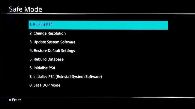 ps4 pro won't turn on