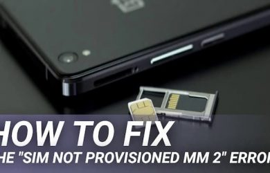 sim not provisioned mm#2